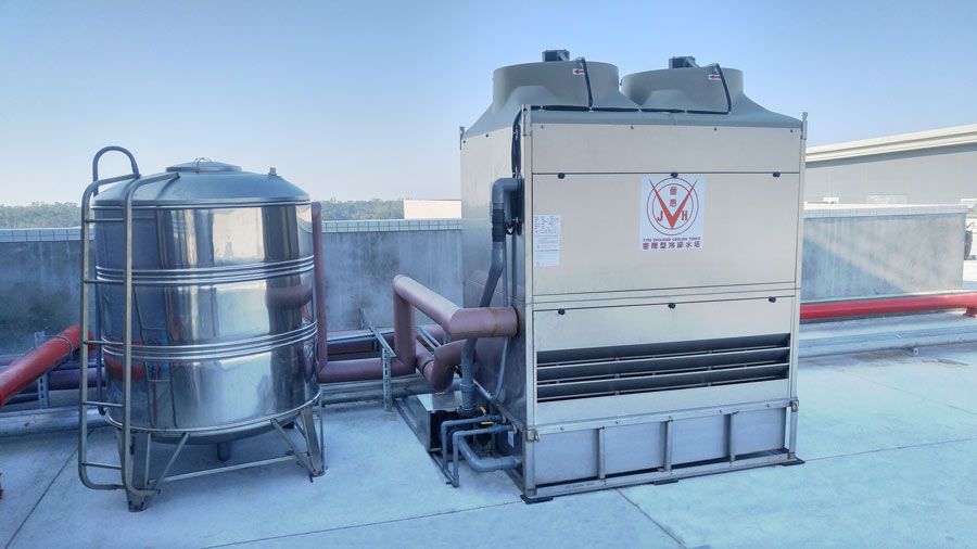 closed circuit cooling tower 45rt